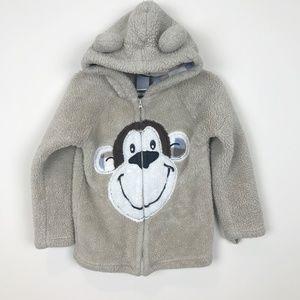 Boys Rock Monkey Coat Size 4T